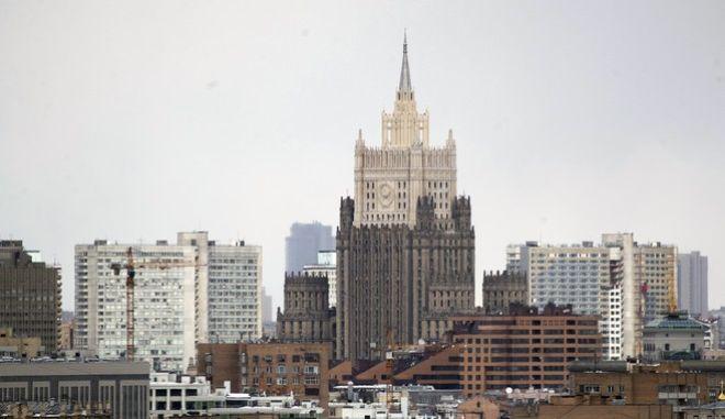 Το κτίριο του ρωσικού υπουργείου Εξωτερικών