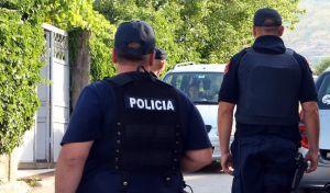 Αστυνομικοί στην Αλβανία