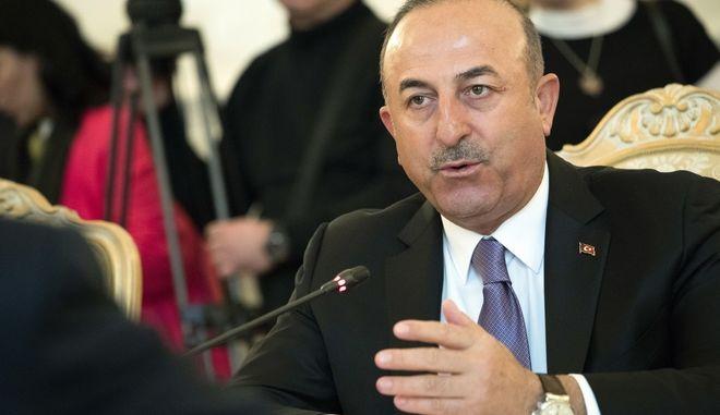 O υπουργός Εξωτερικών της Τουρκίας, Μεβλούτ Τσαβούσογλου