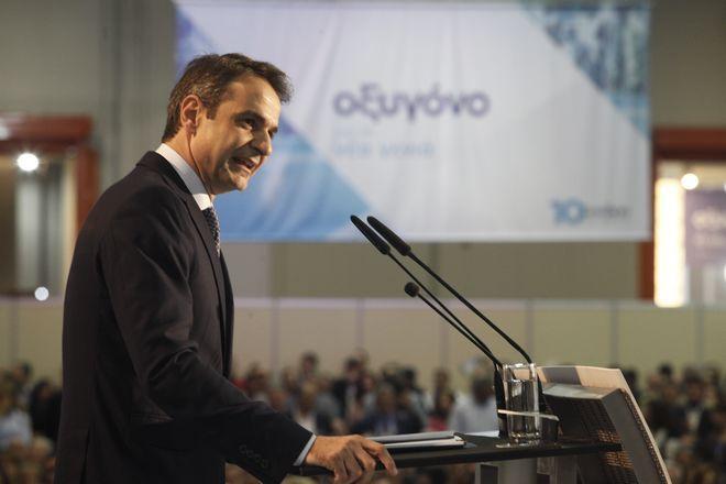 Στιγμιότυπο από την 3η ημέρα των εργασιών του 10ου Συνεδρίου της Νέας Δημοκρατίας