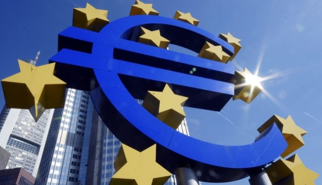 """FILE - In this Sept. 21, 2007 file picture the  Euro sign is photographed in front of the European Central Bank in Frankfurt, Germany. Less than three months ago, as its leaders scrambled to assemble a nearly US dlrs1 trillion rescue package for the eurozone, fears were rife that the continent was headed for a debt debacle and a painful economic crash. But upbeat economic signs -  including robust German business confidence, predictions of strong second-quarter growth and successful bond auctions by Greece, Portugal and Spain - have helped change the picture. The latest piece in the puzzle: last Friday's release of """"stress tests"""" designed to show how Europe's banks would cope with a deepening economic and debt crisis, which only seven of the 91 institutes surveyed failed. (AP Photo/Bernd Kammerer,File)"""