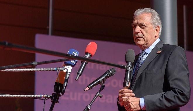 Ο Επίτροπος Μετανάστευσης της Ευρωπαϊκής Ένωσης Δημήτρης Αβραμόπουλος