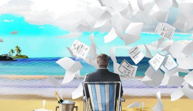 Στο 'στόχαστρο' offshore Guardian και BBC για τα Paradise Papers