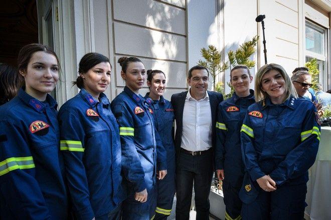 Συνάντηση του πρωθυπουργού με γυναίκες από διάφορες κοινωνικές και εργασιακές ομάδες