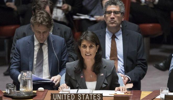 """""""Θύελλα"""" από την απόφαση των ΗΠΑ να αποσυρθούν από το Συμβούλιο Ανθρωπίνων Δικαιωμάτων του ΟΗΕ"""