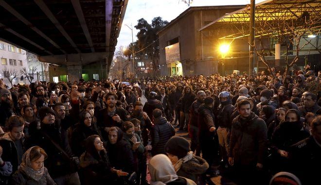 Διαδηλώσεις στην Τεχεράνη