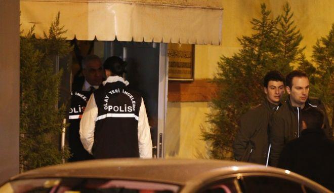 Ερευνητές της τουρκικής αστυνομίας (Αρχείο)