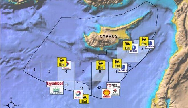 Tα οικοπεδα της Κυπριακής ΑΟΖ