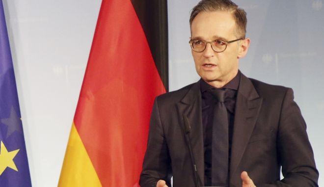Ο υπουργός Εξωτερικών της Γερμανίας Χάικο Μάας