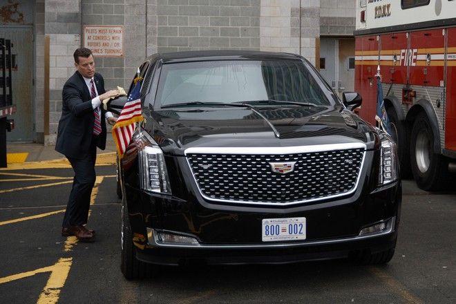 Η νέα Cadillac του Τραμπ κατασκευάστηκε από την General Motors Co