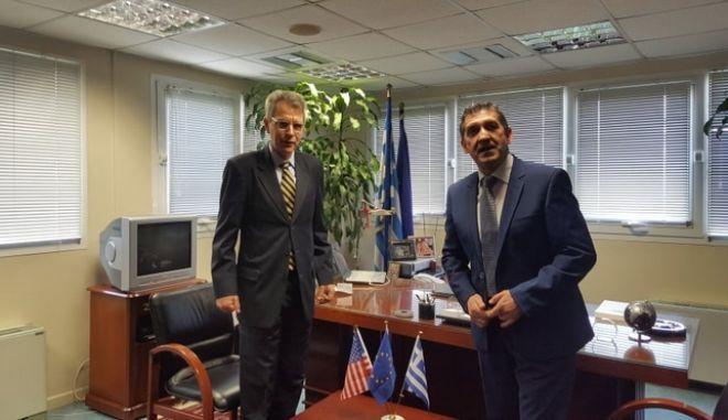 Πρέσβης ΗΠΑ: Η Πάτρα σταθμός ενδιαφέροντος για την οικονομική συνεργασία με την Αμερική