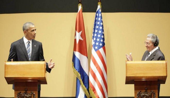 Ομπάμα - Κάστρο: Αβάνα και Ουάσινγκτον να εργαστούν προς όφελος των λαών