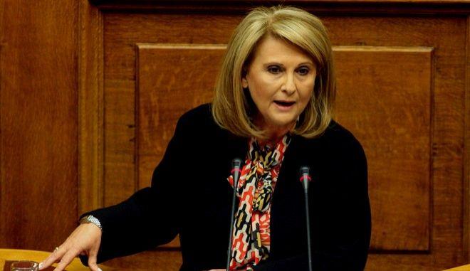 Τρίτη ημέρα της συζήτησης στην Βουλή για την παροχή ψήφου εμπιστοσύνης στην κυβέρνηση την Παρασκευή 10 Οκτωβρίου 2014. (EUROKINISSI/ΤΑΤΙΑΝΑ ΜΠΟΛΑΡΗ)