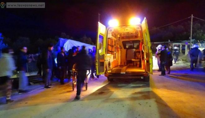 Μόρια: Τουλάχιστον δέκα τραυματίες σε επεισόδια μεταξύ μεταναστών