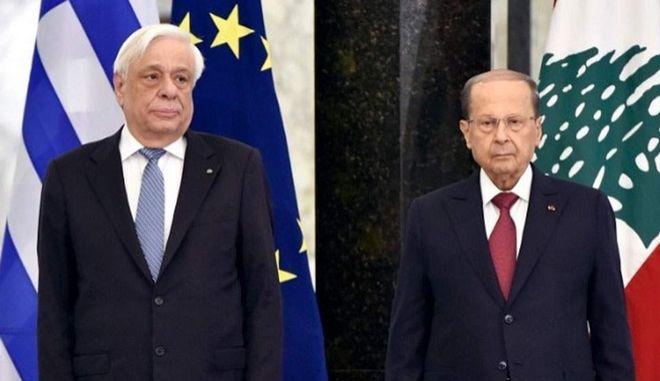 Πρ. Παυλόπουλος: Η Ευρώπη δεν ήταν όσο έπρεπε παρούσα στον πολυπαθή Λίβανο