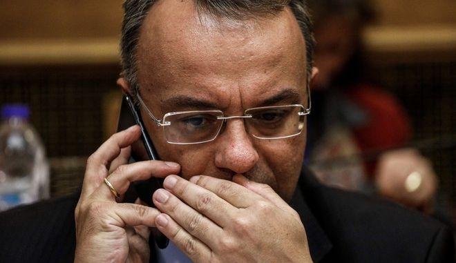 Ο υπουργός Οικονομικών, Χρήστος Σταϊκούρας