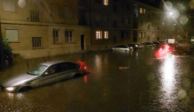 Γαλλία: Αγνοείται 17χρονος μετά από σφοδρή καταιγίδα
