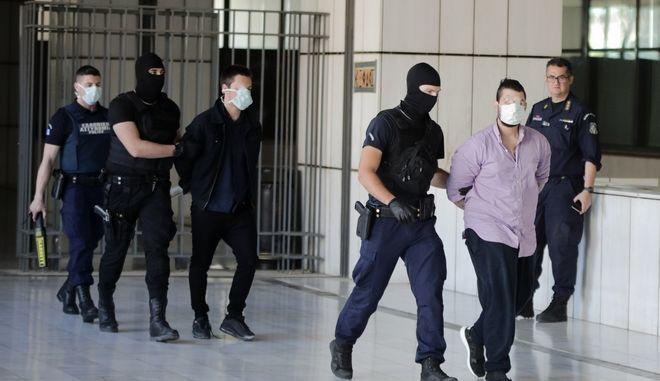 Οι κατηγορούμενοι για τη δολοφονία της Ελένης Τοπαλούδη.