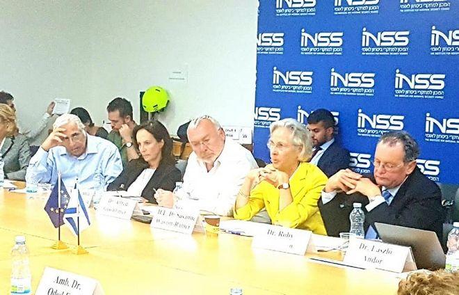 Από την συμμετοχή στο διεθνές φόρουμ στο Τελ Αβίβ