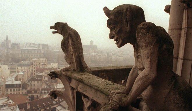 Τα Gargoyles της Παναγίας των Παρισίων