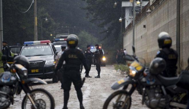 Αστυνομία στη Γουατεμάλα.
