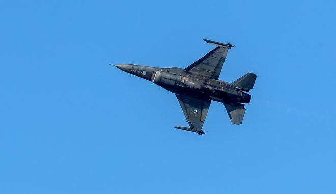 Μαχητικό αεροσκάφος F-16 (φωτογραφία αρχείου)