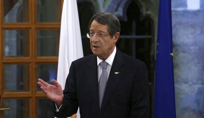 Ο Κύπριος Πρόεδρος Νίκος Αναστασιάδης.