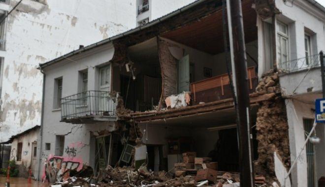 """Καταστροφές στην Καρδίτσα από την κακοκαιρία """"Ιανός"""" το Σάββατο 19 Σεπτεμβρίου 2020"""