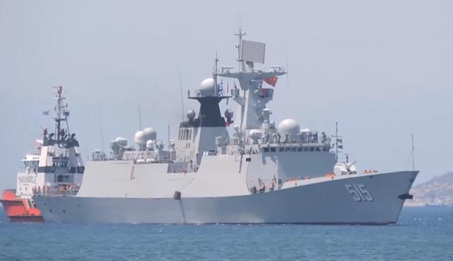 Στον Πειραιά φρεγάτα του Κινεζικου Ναυτικού