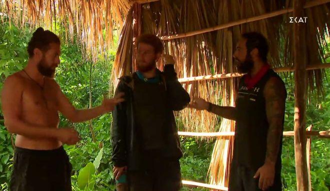 "Survivor 4 - Κώστας Παπαδόπουλος: ""Τριαντάφυλλε φύγε από 'δω, βρωμάει το στόμα σου"""