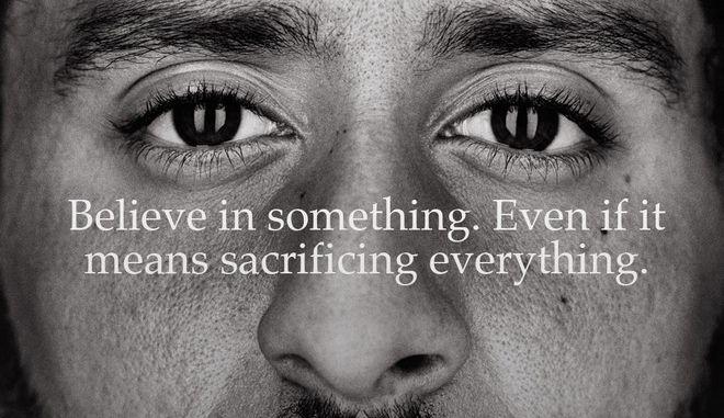 Η Nike επέλεξε τον Κάπερνικ και οι υποστηρικτές του Τραμπ έβαλαν φωτιές