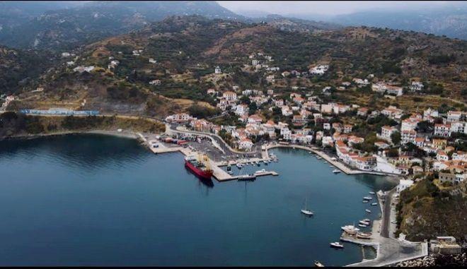Ικαρία: Το πανέμορφο νησί του Αιγαίου από ψηλά