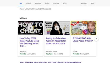 Το παράλογο της Google στο κυνήγι των Fake Views