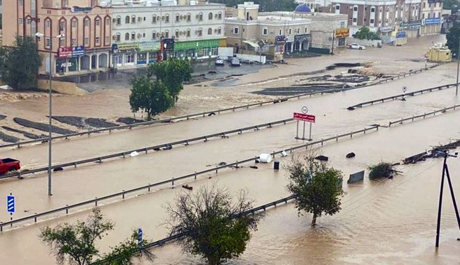 Τουλάχιστον 11 νεκροί από τον κυκλώνα Σαχίν