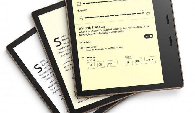 Amazon Kindle Oasis: Νέα έκδοση για το κορυφαίο ereader με νέο σύστημα φωτισμού
