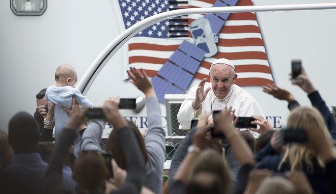 Ο Πάπας Φραγκίσκος στην Φιλαδέλφεια των ΗΠΑ, 2015
