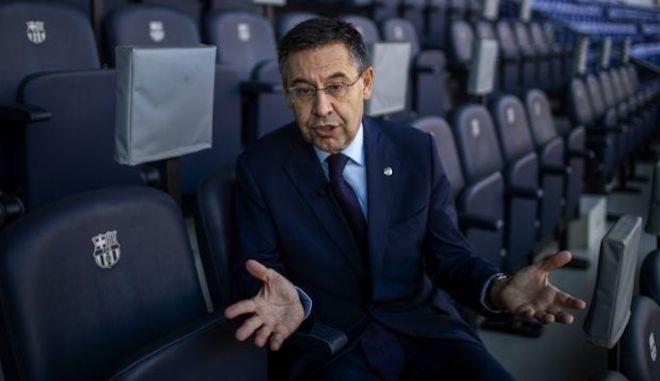 """Μπαρτσελόνα: Συνελήφθη ο Μπαρτομέου για το """"Barca Gate"""""""