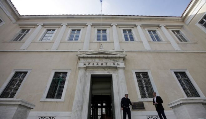 ΑΘΗΝΑ-Τη μετάβαση του Συμβουλίου της Επικρατείας (ΣτΕ) στη νέα ψηφιακή εποχή εγκαινίασαν σήμερα, Τετάρτη 13 Νοεμβρίου, ο Υπουργός Διοικητικής Μεταρρύθμισης και Ηλεκτρονικής Διακυβέρνησης, Κυριάκος Μητσοτάκης,η αναπληρωτής υπουργός Εύη Χριστοφιλοπούλου και ο Πρόεδρος του ΣτΕ, Σωτήρης Ρίζος.(EUROKINISSI-ΓΕΩΡΓΙΑ ΠΑΝΑΓΟΠΟΥΛΟΥ)