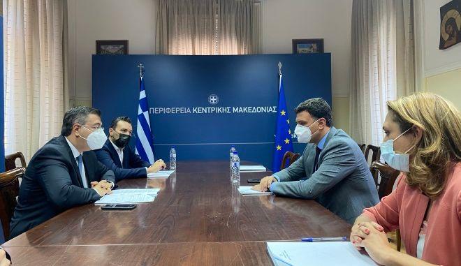 Συνάντηση Κικίλια - Τζιτζικώστα στη Θεσσαλονίκη