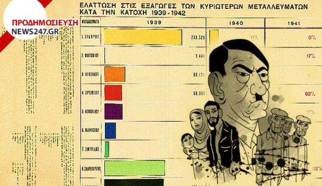Όταν οι Γερμανοί λεηλατούσαν την ελληνική οικονομία