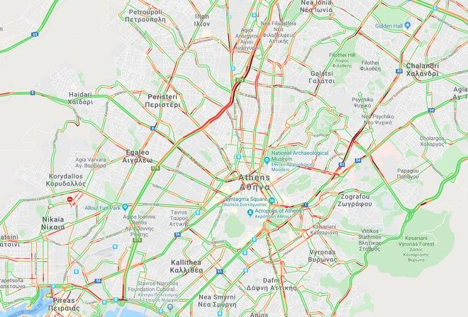 Κίνηση στους δρόμους: Τέλος εβδομάδας με ταλαιπωρία στο τιμόνι