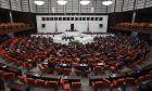 Εικόνα από το τουρκικό κοινοβούλιο