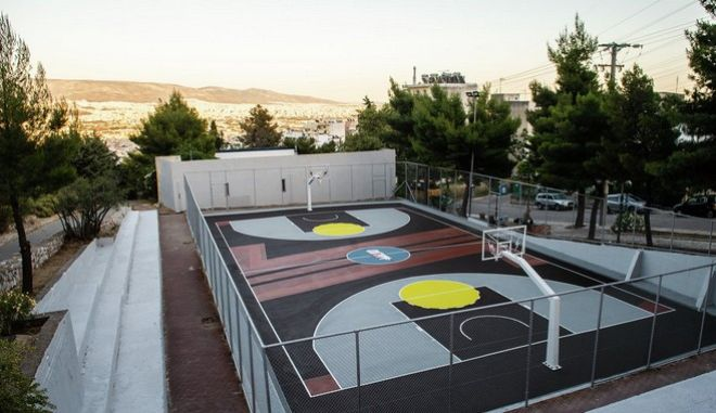 Η MILKO έκανε πραγματικότητα το νέο Γήπεδο Μπάσκετ Αγίας Βαρβάρας!