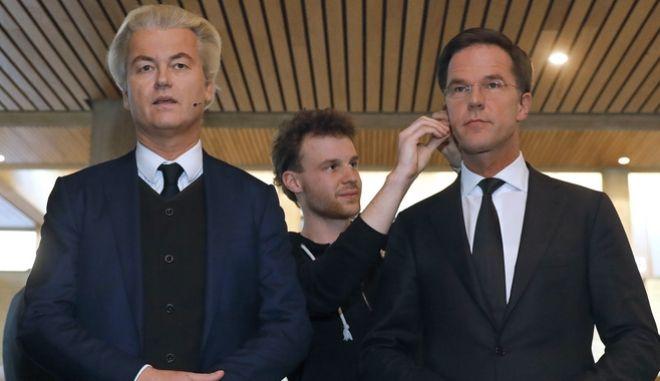 Ολλανδικές εκλογές: Μπρα ντε φερ Ρούτε - Βίλντερς με αυξημένη προσέλευση