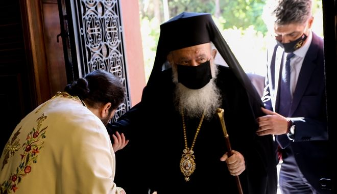 O Αρχιεπισκοποις Ιερώνυμος