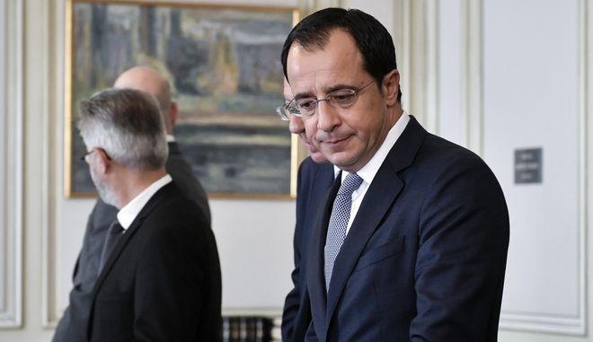 O Κύπριος υπουργός Εξωτερικών Νίκος Χριστοδουλίδης.