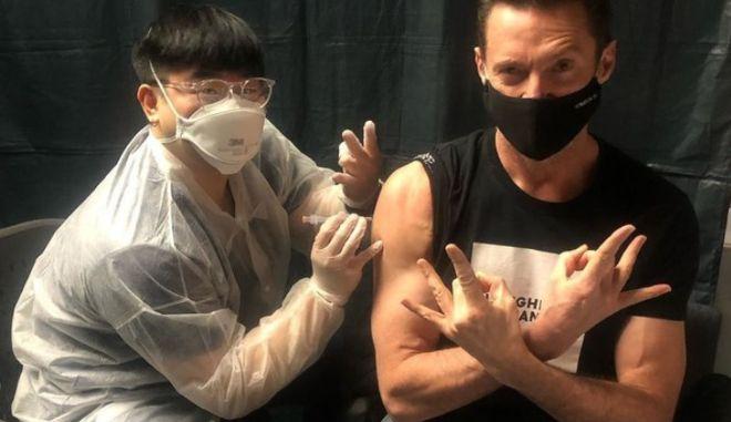 Χιου Τζάκμαν: Ακόμη και ο Wolverine χρειάζεται εμβόλιο κατά του κορονοϊού
