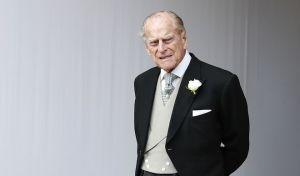 Ο πρίγκιπας Φίλιππος σε γάμο στο Λονδίνο