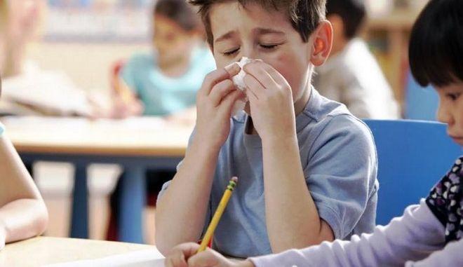 Εποχική Γρίπη: Εγκύκλιος με οδηγίες από το Υπουργείο Παιδείας