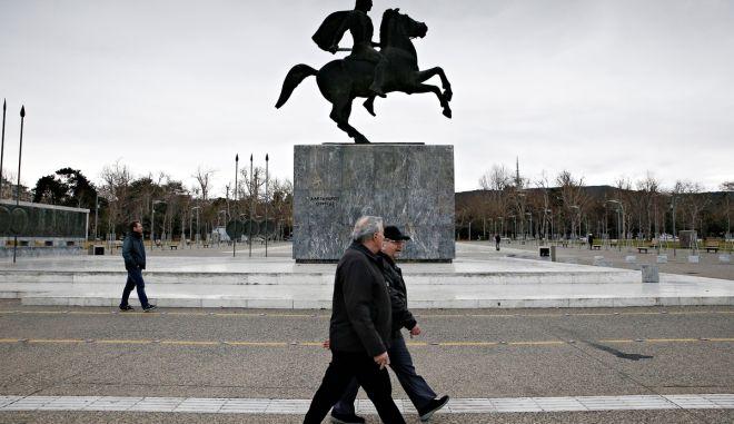 Street scenes from Thessaloniki, Greece on Jan. 13, 2018. /      13 , 2018.
